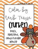 Turkey Color by Verb Tense Activity