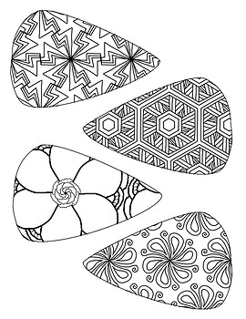 Turkey Coloring Craft Template ~ Thanksgiving Fun Activity