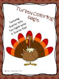 Turkey Coloring Pages Bundle