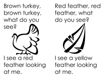 Turkey Colors Packet for Use with our Kindergarten Buddies
