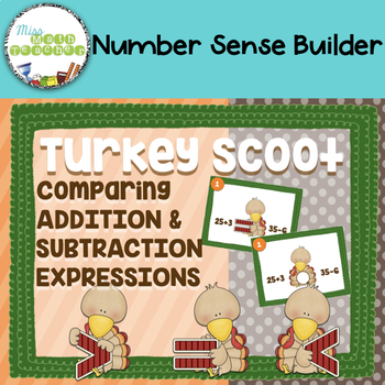 Turkey Comparing Equations Scoot