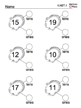Turkey Core Math Worksheets