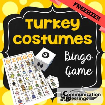 Turkey in Disguise Bingo Game (Freebie)