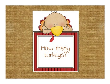 Turkey Count Book