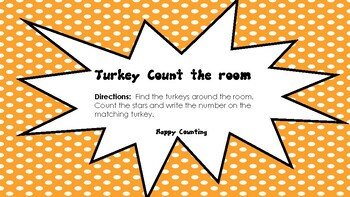 Turkey Count the Room