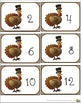 Turkey Counting by Twos Task, Flash, or Math Center Cards with Certificates