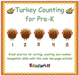 Turkey Math - Counting Sets in PreK