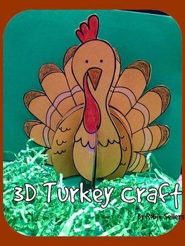 Thanksgiving Craft {turkey}