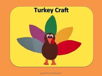 Turkey Craft (A Thanksgiving Craft)