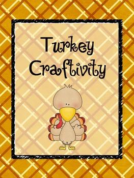 "Turkey Craft Activity ""Craftivity"""