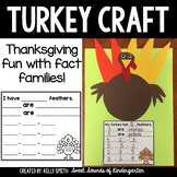 Turkey Craft {Fact Family Feathers}