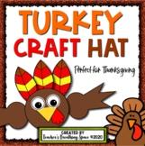 Turkey Craft Hat (Headband) for Thanksgiving