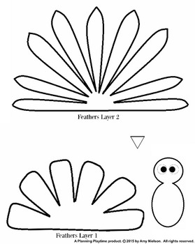 image regarding Printable Turkey Craft titled Turkey Craft Printable Template
