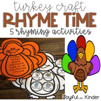 Turkey Craft - Rhyme Time