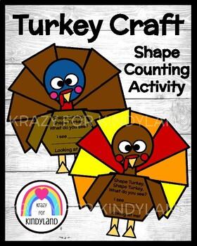 Turkey Craft: Shape Turkey
