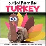 Turkey Craft: Stuffed Turkey Thanksgiving Craft