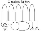 Turkey Craft Template