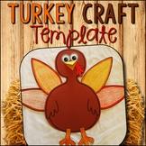 Turkey Craft Template --- Turkey Cut and Paste Craft