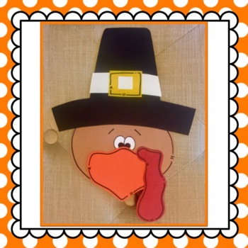 Turkey Craft & Writing Activity: Fall Crafts: Thanksgiving Crafts
