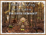 Thanksgiving Turkey Craft and Crowns