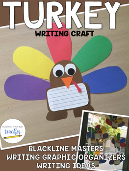 Turkey Craft and Holiday Writing {Thanksgiving Fun!}
