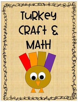 Turkey Craft and Math