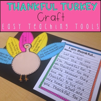 Turkey Craft and Writing