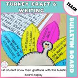 Turkey Craft and Writing (Digital and Printable)