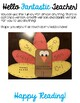 Turkey Craft for Phonics or Math
