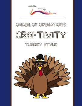 Thanksgiving Math Craftivity – Order of Operations