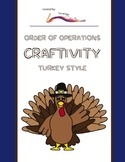 Thanksgiving Math Craftivity – Order of Operations