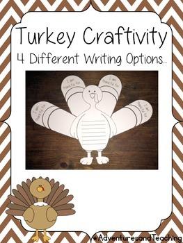 Thanksgiving Turkey {Craftivity}