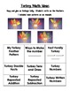 Turkey Craftivity to use in ELA and Math