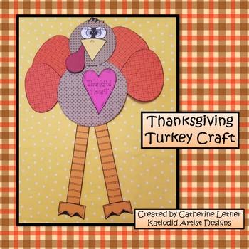 Fall Craft, Thanksgiving Craft, Turkey Craft!