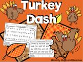 DIBELS Turkey Dash: Working on Fluency