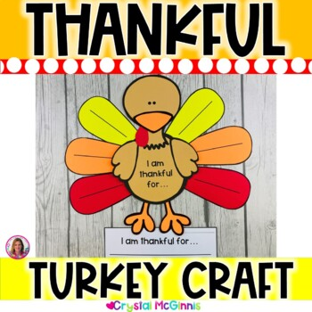 Thanksgiving Turkey Craftivity and Writing Prompts