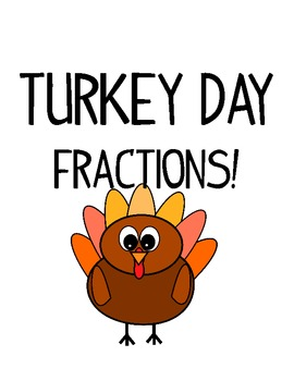 Turkey Day Fractions