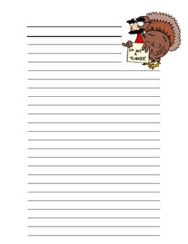 Turkey Day Persuasive Writing