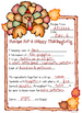 Turkey Day Printable Activity Download