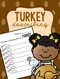 Turkey Describing FREEBIE