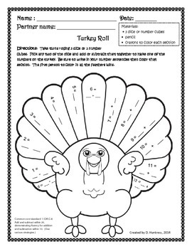 Turkey Dice Roll