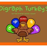 Turkey Digraph Sort (wh, th, sh, ch)