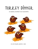 Turkey Dinner    An Original Poem/Skit for Thanksgiving