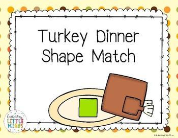 Turkey Dinner Shape Match