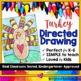 Turkey Directed Drawing ... Thanksgiving ... November ... Fall ... Anytime!