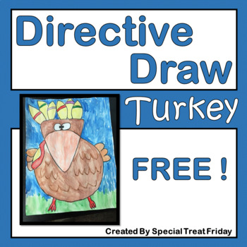 Thanksgiving Turkey Directive Drawing Activity