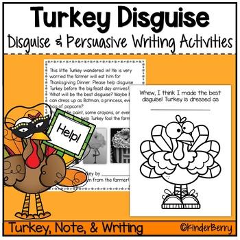 Turkey Disguise & Persuasive Writing