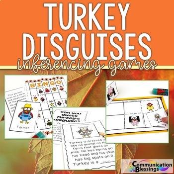Turkey Disguises: Inferencing Activities