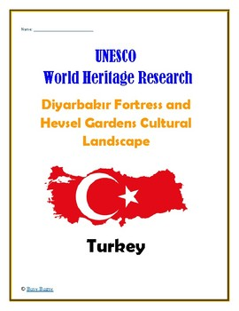 Turkey: Diyarbak Fortress and Hevsel Gardens Cultural Landscape Research Guide