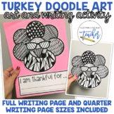 Turkey Doodle Art